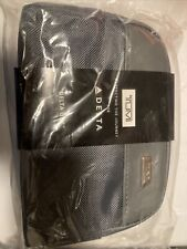 TUMI DELTA ONE Toiletry Travel kit  -Grey soft case Luggage -New - wrapped