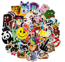 50 PCS Random Stickers decals vinyl for Motorcycle skateboard Car laptop luggage