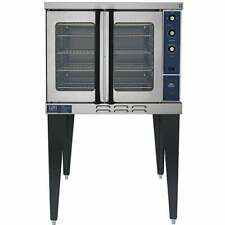 Gas Convection Oven With Glass Doors