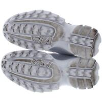 Fila Womens Disruptor 2 Premium Repeat White Sneakers 7.5 Medium (B,M) BHFO 0829