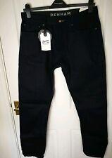 New Denham Mens Jeans Size W33 L32 Cotton Trousers Blue RRP €275 Pants  DX