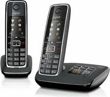 Telefono Cordless Duo con Segreteria Vivavoce Col Nero Siemens C530A DUO
