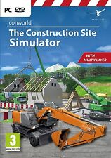 Conworld: The Construction Site Simulator (PC DVD) NEW & Sealed