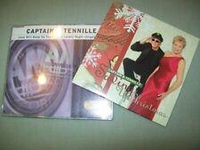 Captain & Tennille       *PROMO CD LOT*        Saving Up Christmas  --  Love