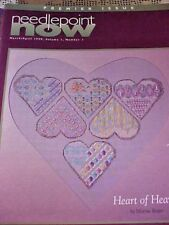 Needlepoint Now Magazine Back Issue March April 1999 Number 1 Lots of Charts
