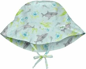 i play. Green Sprouts Baby Bucket Sun Protection Hat 9/18 Months Shark Sealife