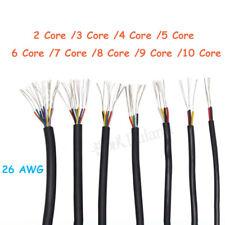 26 Awg Multi Core Pvc Cable 2345678910 Core Signal Flexible Copper Wire
