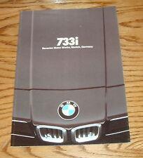 Original 1978 BMW 733i Sales Brochure 78
