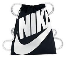 Nike Heritage Gym Sack Sports Soccer/Football/Yoga Bag Black BA5351-011 NWT