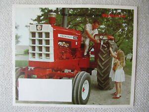 1967 Cockshutt big red line 1950 1850 1750 1650 1550 1350 1250 tractor brochure