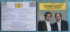 PLACIDO DOMINGO E CARLO MARIA GIULINI - OPERN GALA - 1 CD n.1734