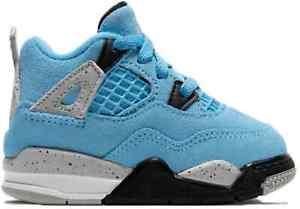 Jordan 4 Retro University Blue (TD) - Size 9