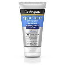 Neutrogena Ultimate Sport Face Oil-Free Lotion Sunscreen Spf 70+ 2.5 Fl. Oz.