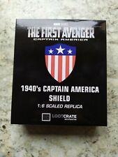 Marvel : Captain America 1940's Shield - 1:6 scale - 4.5 inches - New
