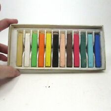 Vintage Koss 12 Square Pastels Made in Korea Art Pastels Drawing