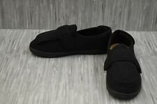 Foamtreads Physician M2 Indoor/Outdoor Slippers, Men's Size 10.5M, Black