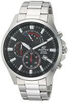 Casio Men's Edifice Chronograph Stainless Steel Quartz Watch EFV-530D-1AV