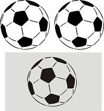 Wandschablone, Wandschablonen, Malerschablone, Fußball, Ball, Fußball XL 19x19cm