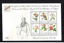Belgique  bloc Belgica 90   fleurs     num: bf 67   **