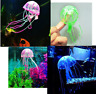Aquarium Jellyfish Decoration Glowing Effect Fish Tank Artificial Ornament Decor