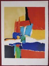 Lithografie B. Bruane - La Composition Abstraite I