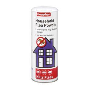 Beaphar Household Insecticidal Rug & Carpet Flea Powder Kills Fleas Larvae 300g