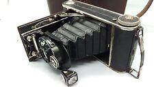 VINTAGE VOIGTLANDER anastigmat voigtar 1:6,3 F = 9 cm Lentille Caméra pliante. BON