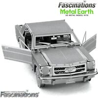 Metal Earth 1965 Ford Mustang Car Laser Cut DIY Steel 3D Model Building Kit