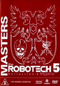 The Robotech 5 - Collection 5 Legacy - DVD - Region 4 - FAST POST