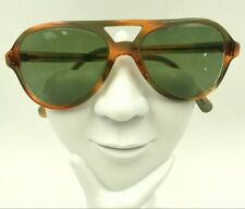 Vintage Pathway Brown Green Aviator Sunglasses Usa Frames Only