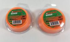 Lot Of 2 DIAMOND EDGE .095 X 40' TRIMMER LINE Weed Eater String Roll USA DE095PL