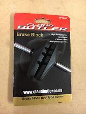 Claud Butler 60mm Post Type Brake Pad (block Pads V-brake Canti MTB ATB Hybrid)