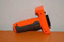 Nerf Retaliator Assault Fore Grip Rail Front Handle Orange Grey Accessory