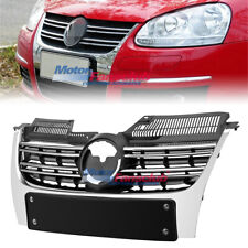 Front Bumper Radiator Center Grille Grill For VW Jetta MK5 Sedan 2006-2010 07 08