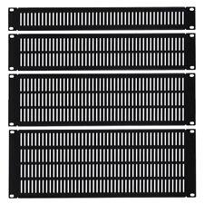 1U-4U Vented Blank Rack Mount Panels 19