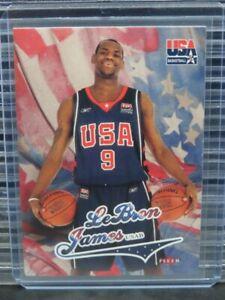 2004-05 Fleer Lebron James USA Basketball Y686