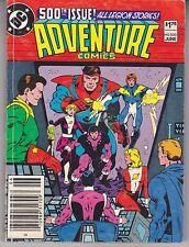 "DC Comic Digest: Adventure Comics #500 DC Comics 1983 ""The Legion of Superheroes"