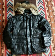 Sugar Cane Quilted Leather Jacket Parka Bape