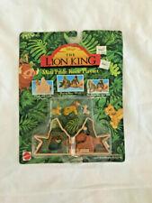 Disney Lion King Mattel Mini Pride Rock Playset 66377 Complete Simba Nala Mufasa