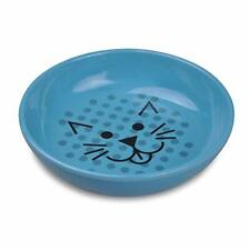New listing Van Ness Ecoware Cat Dish 8 Ounce Assorted Colors Pacific Blue Single Dish Ecw20