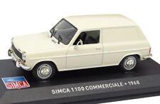 SIMCA 1100 COMMERCIALES 1968 furgoneta VAN 1:43 IXO Altaya Diecast