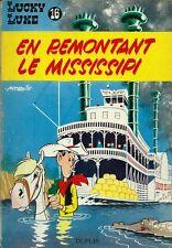 RARE EO 1961 MORRIS / LUCKY LUKE N° 16 : EN REMONTANT LE MISSISSIPI