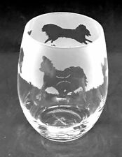 More details for papillon frieze boxed 36cl crystal stemless wine / water glass