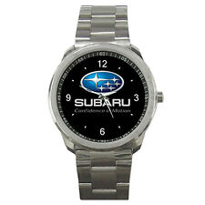 Subaru WRC Rally Team Racing Logo Sport Metal Watch For Gift No T Shirt