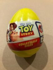 New Sealed Disney / Pixar Toy Story - Collectible Disc Egg (24 To Collect)