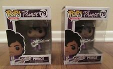 (2) Funko Pop! Rocks #79 Prince Vinyl Figure Bobblehead Purple Rain Brand New