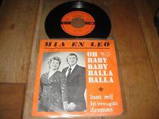 Mia en Leo.A.Oh baby baby balla balla.B.Laat mij in vreugde dromen.(4008)