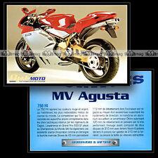 MV AGUSTA 750 F4 - Fiche Moto #OM1.38