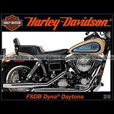 HARLEY-DAVIDSON N°26 ★ FXDB 1340 DYNA DAYTONA ★ RAT BIKES THE ENTHUSIAST HD MOTO