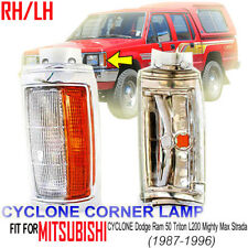 Mitsubishi Dodge Ram 50 Triton L200 Mighty Max 1987-96 Chrome Front Corner Light
